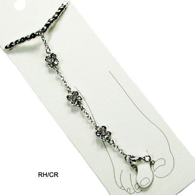 ANKLET W TOE RING(BA0016-HBC8001)