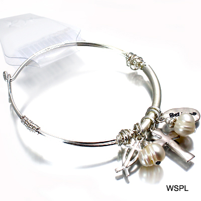 FASHION CROSS THEME WIRE BR(BF0087-AB8296)