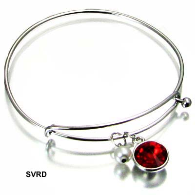FASHION 10MM STONE BANGLE BR(BF0149-41852)