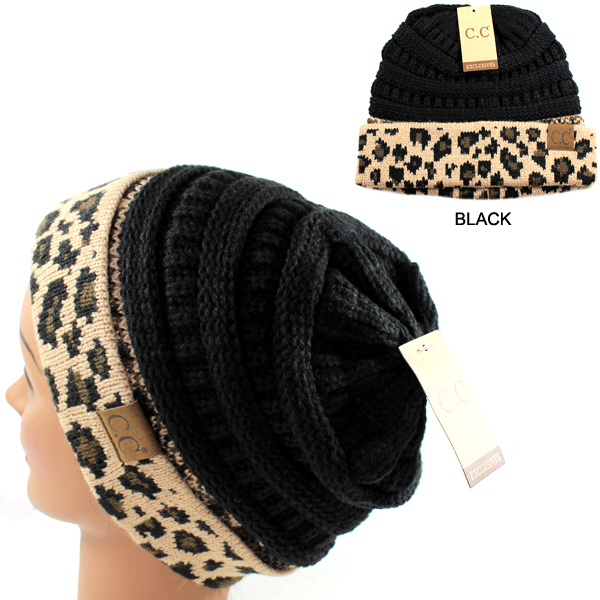 DZ-C.C SOLID COLOR BEANIE HAT W CUFF/LT(CB0023-HAT80)