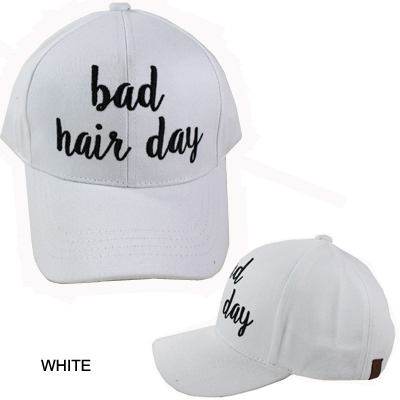C.C EMBROIDERED CAP/BED HAIR DAY(CC0002-BA2017)