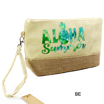 BEACH BAG POUCH ALOHA SUMMER(CH0002-MP0011)