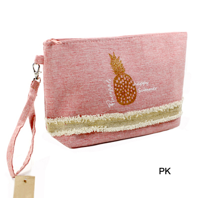 BEACH BAG POUCH GLITTER PINEAPPLE(CH0004-MP0015)