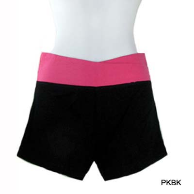 6PC-FASHION WAISTBAND SHORTS(CLA0041-YP1011)