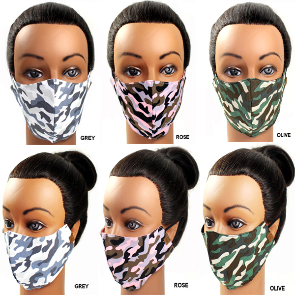 DZ-C.C FASHION CAMO PRINT MASK(CM0008-MASK1)