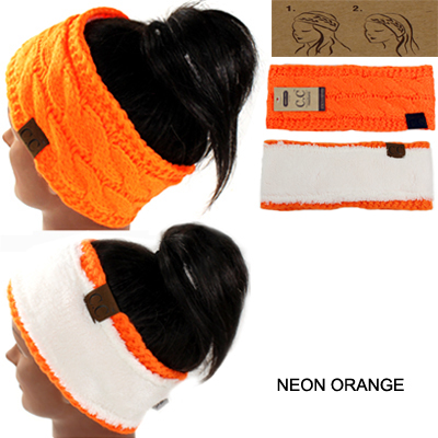 DZ-C.C CABLE NEON COLOR HEAD WRAP(CW0002-HW20)
