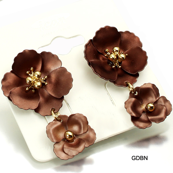 FASHION FLOWER ER(EF0183-AE2257)