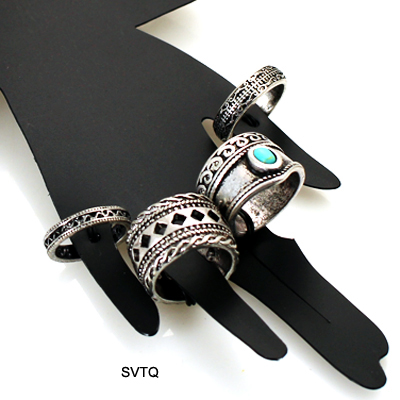 FASHION VINTAGE MULTI PACK RING(RF0007-R1371)