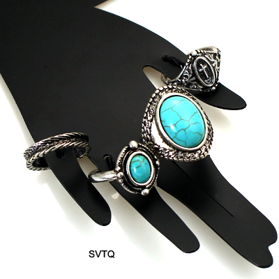 FASHION VINTAGE MULTI PACK RING(RF0008-R1372)