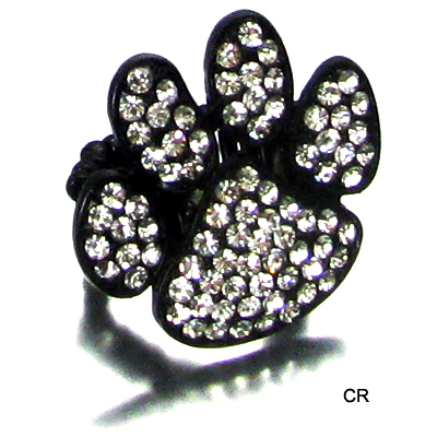 FASHION PAW STONE RING(RF0013-R00603)