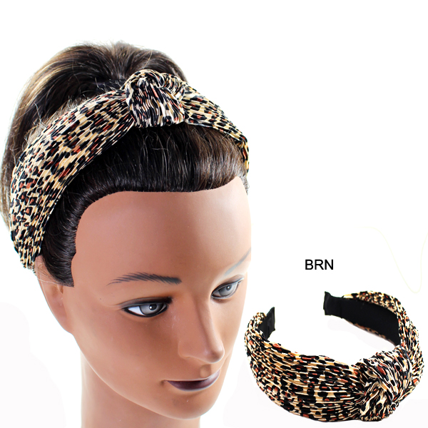FASHION ANIMAL PRINT H/BAND(HB0048-FD0023)