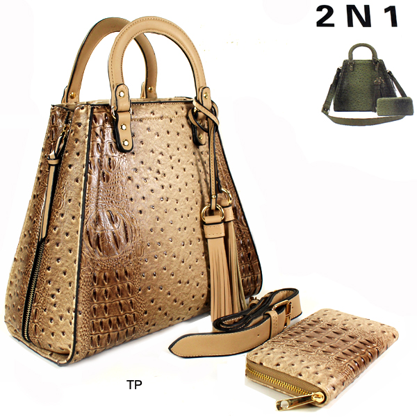 FASHION 2IN1 HANDBAG(HF0068-LD136)