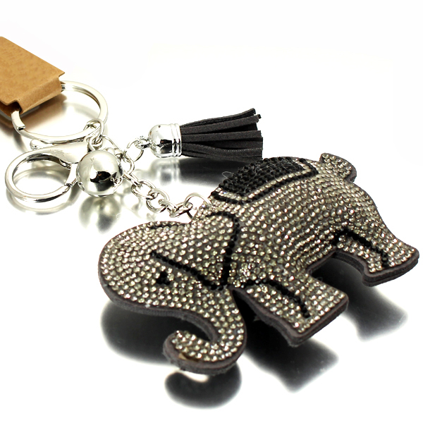 ELEPHANT CRYSTAL KEY CHAIN(KM0005-31202)