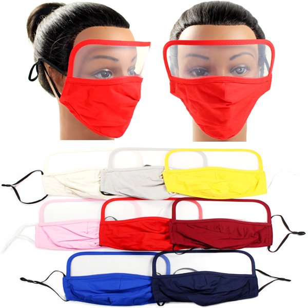 DZ-ADULT 3D SHAPE FILTER POCKET & FACE SHIELD (MK-FS0005)