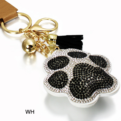DOG PAW CRYSTAL KEY CHAIN(KM0003-31311)