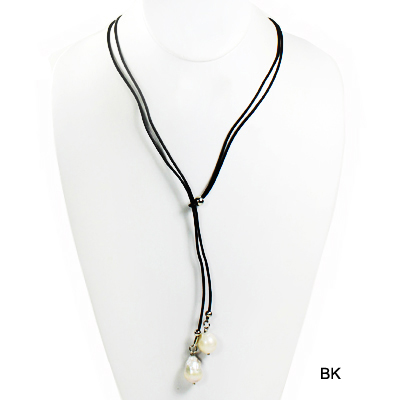 "FASHION NATURAL PEARL W DROP NK22""(NT0001-JMN814)"