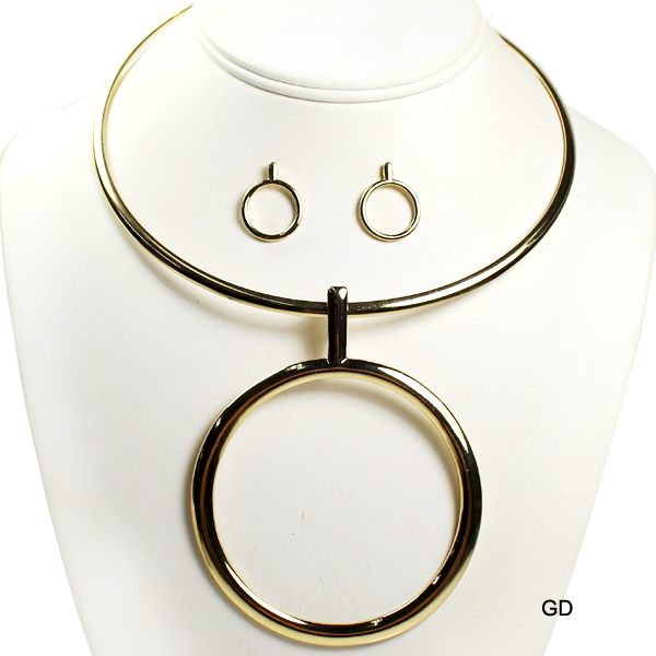 "FASHION GEOMETRIC CHOCKER NK SET18""(NT0249-AS5369)"