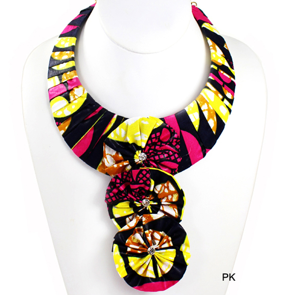 FASHION 3FLOWER KENTE NK(NT0303-KN2015)