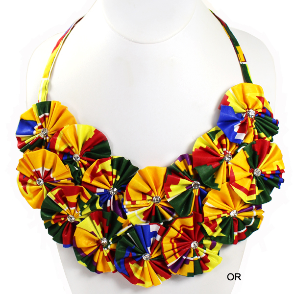 "FASHION FLOWER KENTE NK31""(NT0305-KN2003-1)"