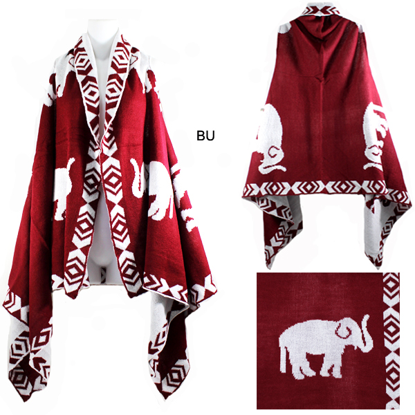 FASHION ELEPHANT VEST(SHA0024-MSV0021)