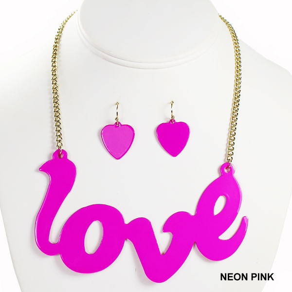 "METAL LOVE NK SET15.5""(SV0036-YJS891)"