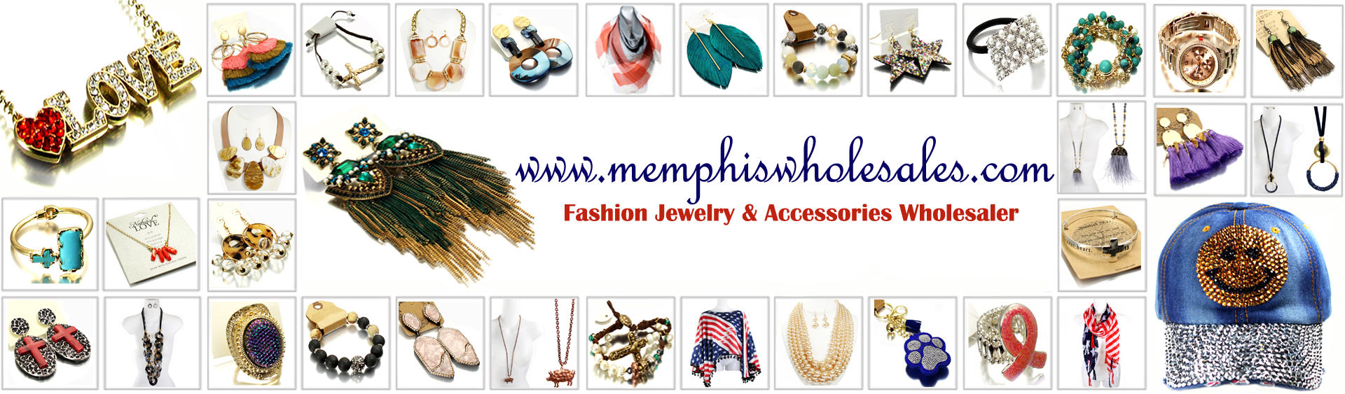 Memphis Whole Jewelry Accessories