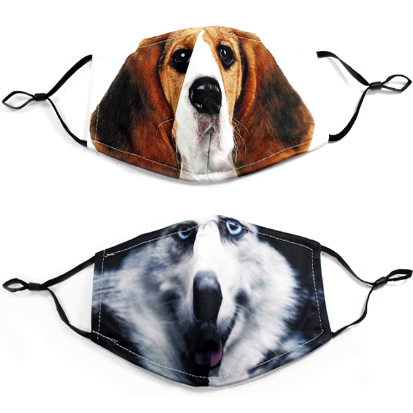 DZ-FASHION DOG PRINT MASK(MK-DZ0261-QE2299)