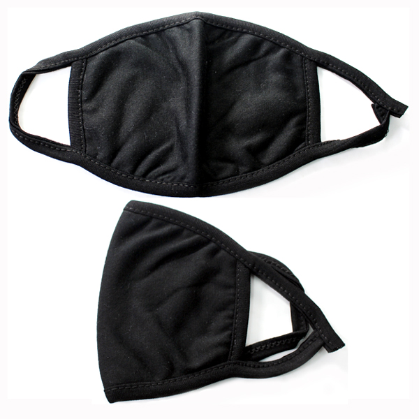 DZ-COTTON BLACK MASK(MK-DZ0265)