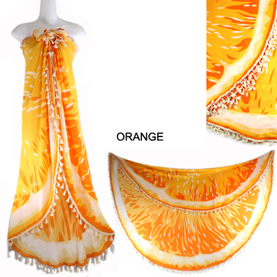 "59""ORANGE BEACH COVER UP(SHA0008-LOF497)"