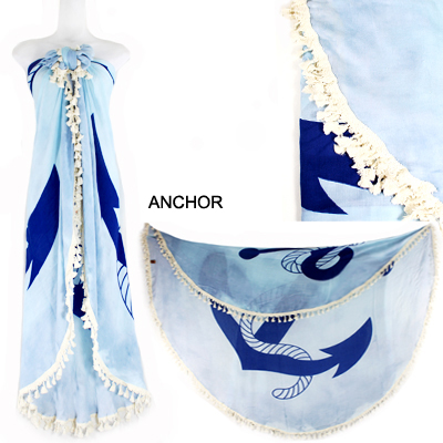 "59""ANCHOR BEACH COVER UP(SHA0011-LOF501)"