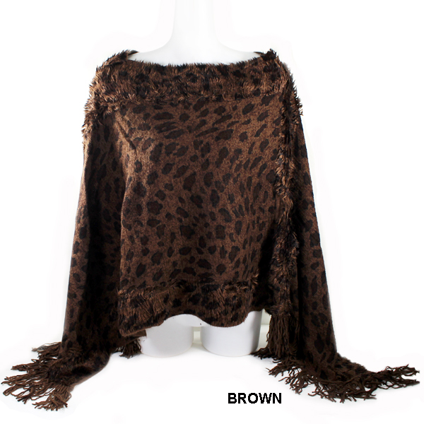 FASHION PONCHO(SHA0032-PC1005)
